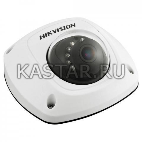 Компактная вандалостойкая IP-камера для транспорта Hikvision DS-2CD6510D-IO