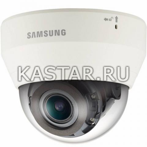 4Мп камера Wisenet Samsung QND-7080RP, Motor-zoom, ИК-подсветка