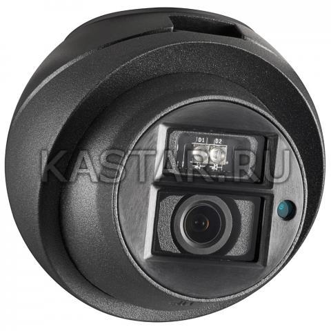 Компактная HD-TVI видеокамера 1Мп для транспорта Hikvision AE-VC122T-IT
