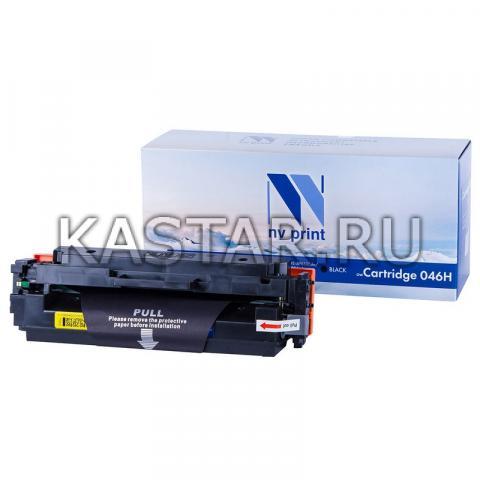 Картридж NVP совместимый NV-046H Black для Canon  i-SENSYS LBP653Cdw | LBP654Cx | MF732Cdw | MF734Cdw | MF735Cx Черный (Black) 6300стр.
