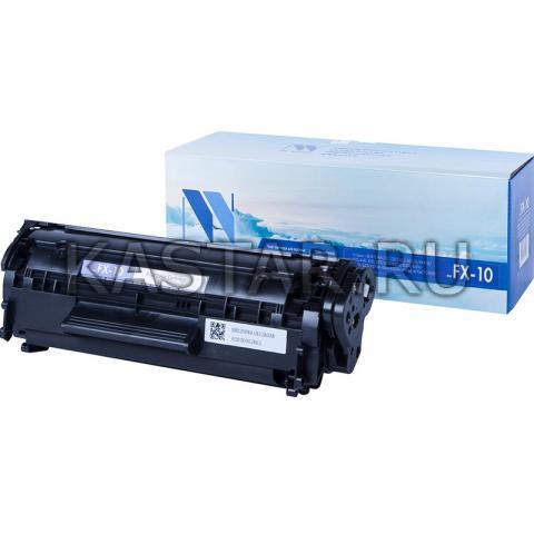 Картридж NVP совместимый NV-FX-10 для Canon L i-SENSYS FAX-L100 | L120 | L140 | L160 | MF4018 | MF4120 | MF4140 | MF4150 | MF4320 | MF4320d | MF4330d | MF4340d | MF4350d | MF4370 | MF4370dn | MF4380 Черный (Black) 2000стр.