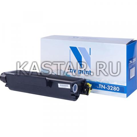 Картридж NVP совместимый NV-TN-3280 для Brother HL-5340D | 5350DN | 5370DW | MFC-8370 | 8880 | DCP-8085 | 8070D Черный (Black) 8000стр.