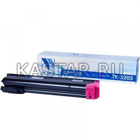Картридж NVP совместимый NV-TK-5205 Magenta для Kyocera TASKalfa 356ci Пурпурный (Magenta) 12000стр.