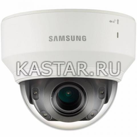 Ударопрочная 12Мп камера Wisenet Samsung PND-9080RP, ИК-подсветка, Motor-zoom