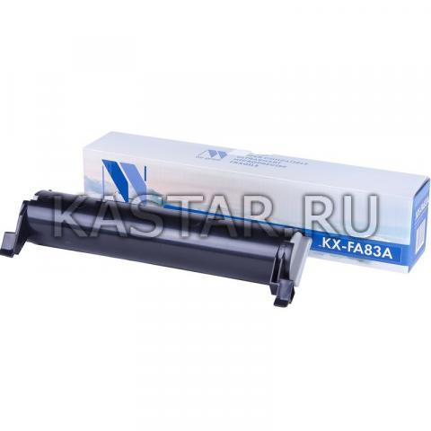 Картридж NVP совместимый NV-KX-FA83A | E для Panasonic KX-FL511 | 512 | 513RU | 541 | 543RU | M513RU | 543RU | M653RU | 663RU Черный (Black) 2500стр.