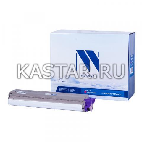 Картридж NVP совместимый NV-44844626 | 44844614 Magenta для Oki C822 Пурпурный (Magenta) 7300стр.
