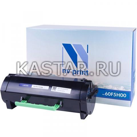 Картридж NVP совместимый NV-60F5H00 для Lexmark MX310dn | MX410de | MX510de | MX511dte | MX611dhe | MX611de | MX511dhe Черный (Black) 10000стр.