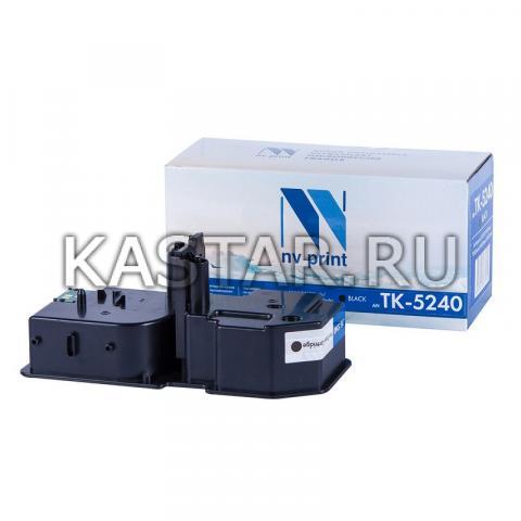 Картридж NVP совместимый NV-TK-5240 Black для Kyocera ECOSYS P5026cdn | P5026cdw | M5526cdn | M5526cdw Черный (Black) 4000стр.