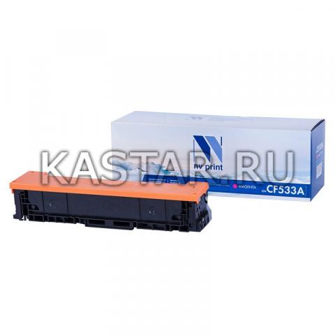 Картридж NVP совместимый NV-CF533A Magenta для HP Color LaserJet Pro MFP M180n | M181fw Желтый (Yellow) 900стр.