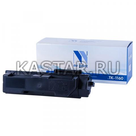 Картридж NVP совместимый NV-TK-1160 (БЕЗ ЧИПА) для Kyocera ECOSYS P2040DN | P2040DW Черный (Black) 7200стр.