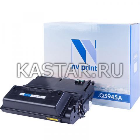 Картридж NVP совместимый NV-Q5945A для HP LaserJet M4345 | M4345x | M4345xm | M4345xs | 4345 | 4345xs | 4345x | 4345xm Черный (Black) 18000стр.