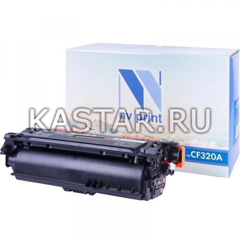 Картридж NVP совместимый NV-CF320A Black для HP LaserJet Color M651dn | M651n | M651xh | MFP-M680dn | M680f | Flow M680z Черный (Black) 11500стр.