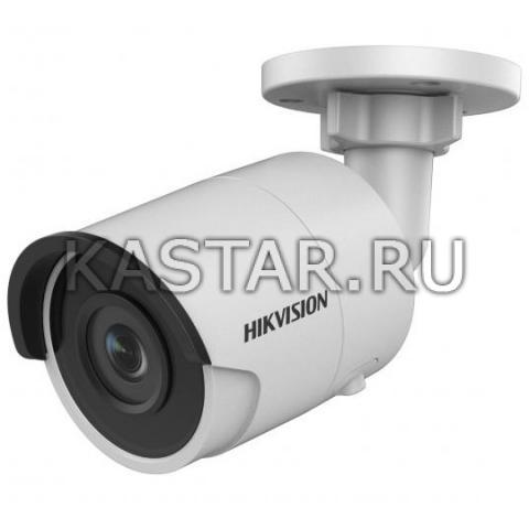 IP минибуллет Hikvision DS-2CD2035FWD-I с EXIR-подсветкой и высокой чувствительностью