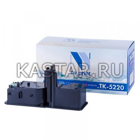 Картридж NVP совместимый NV-TK-5220 Magenta для Kyocera ECOSYS P5021cdw   P5021cdn   M5521cdw   M5521cdn Пурпурный (Magenta) 1200стр.