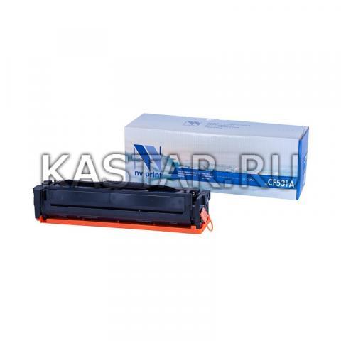 Картридж NVP совместимый NV-CF531A Cyan для HP Color LaserJet Pro MFP M180n | M181fw Голубой (Cyan) 900стр.