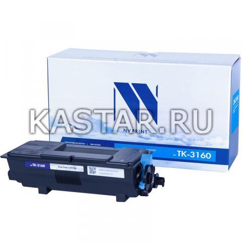 Картридж NVP совместимый NV-TK-3160 (БЕЗ ЧИПА) (БЕЗ ГАРАНТИИ) для Kyocera ECOSYS P3045dn | 3050dn | 3055dn | 3060dn Черный (Black) 12500стр.