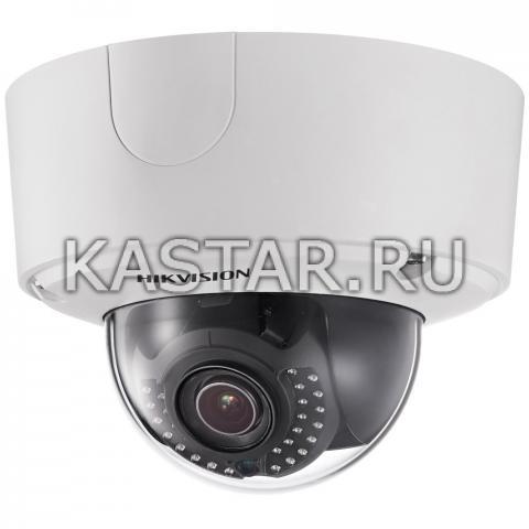 Купольная 6Мп Smart-камера Hikvision DS-2CD4565F-IZH с моторизированной оптикой