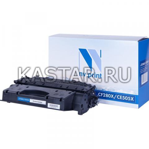 Картридж NVP совместимый NV-CF280X | CE505X для HP LaserJet Pro M401d | M401dn | M401dw | M401a | M401dne | MFP-M425dw | M425dn | P2055 | P2055d | P2055dn | P2055d Черный (Black) 6900стр.
