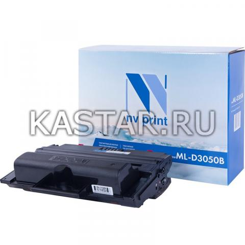 Картридж NVP совместимый NV-ML-D3050B для Samsung ML-3050 | ML-3051N | ML-3051ND Черный (Black) 8000стр.