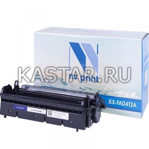 Барабан NVP совместимый NV-KX-FAD412A для Panasonic KX-MB1900RU | 2000 | 2020 | 2030 | 2051 | 2061 Черный (Black) 6000стр.
