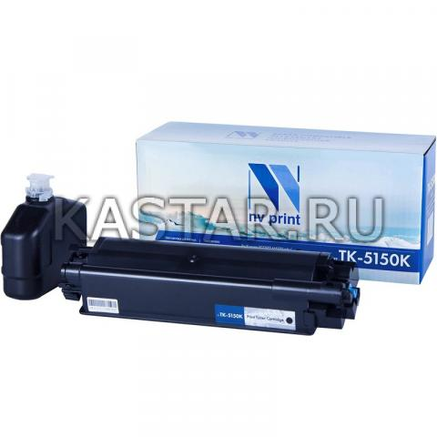 Картридж NVP совместимый NV-TK-5150 Black для Kyocera ECOSYS M6035cidn | P6035cdn | M6535cidn Черный (Black) 12000стр.