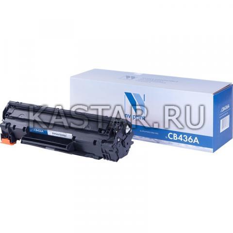 Картридж NVP совместимый NV-CB436A для HP LaserJet M1120 | M1120n | P1505 | P1505n | M1522n | M1522nf Черный (Black) 2000стр.