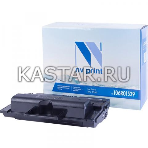Картридж NVP совместимый NV-106R01529 для Xerox WorkCentre 3550 Черный (Black) 5000стр.