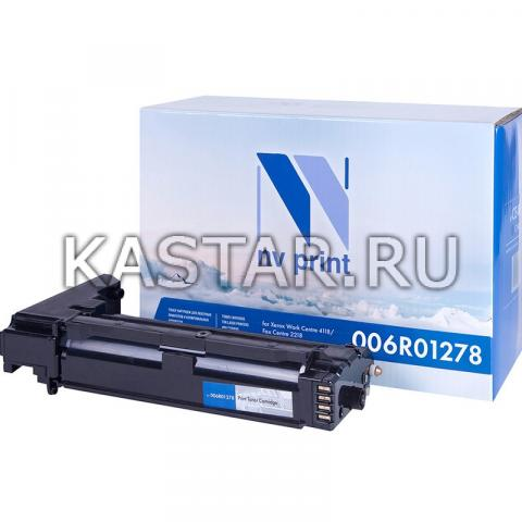 Картридж NVP совместимый NV-006R01278 для Xerox WorkCentre 4118 | FaxCentre 2218 Черный (Black) 8000стр.