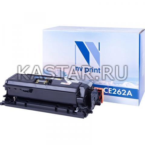 Картридж NVP совместимый NV-CE262A Yellow для HP LaserJet Color CP4025n | CP4025dn | CP4525n | CP4525dn | CP4525xn Желтый (Yellow) 11000стр.