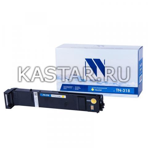 Тонер-картридж NVP совместимый NV-TN-318 Yellow для Konica Minolta bizhub C20 Желтый (Yellow) 8000стр.