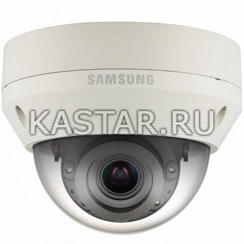 Вандалостойкая камера Wisenet Samsung QNV-7080RP с Motor-zoom и ИК-подсветкой