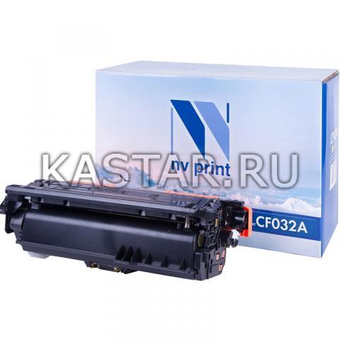 Картридж NVP совместимый NV-CF032A Yellow для HP LaserJet Color CM4540 MFP | CM4540f MFP | CM4540fskm Желтый (Yellow) 12500стр.