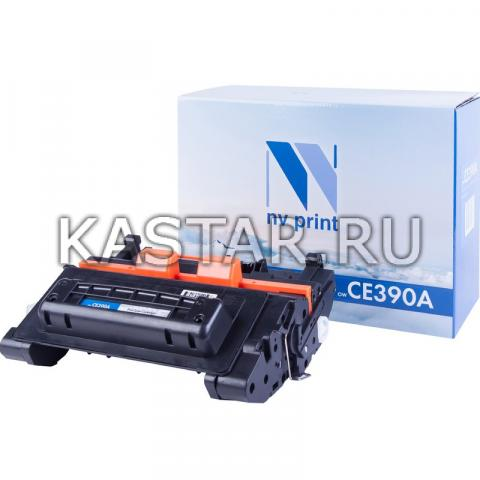 Картридж NVP совместимый NV-CE390A для HP LaserJet Enterprise 600 M601dn | M601n | M602dn | M602n | M602x | M603dn | M603n | M603xh | M4555 | M4555f | M4555fskm | M4555h Черный (Black) 10000стр.