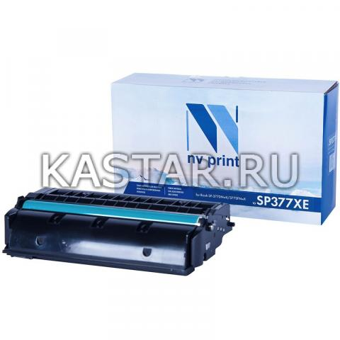 Картридж NVP совместимый NV-SP377XE для Ricoh SP-377DNwX   377SFNwX Черный (Black) 6400стр.