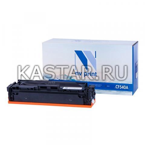 Картридж NVP совместимый NV-CF540A Black для HP Color LaserJet Pro M254dw | M254nw | MFP M280nw | M281fdn | M281fdw Черный (Black) 1400стр.