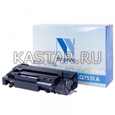 Картридж NVP совместимый NV-Q7551A для HP LaserJet P3005 | P3005d | P3005dn | P3005n | P3005x | M3027 | M3027x | M3035 | M3035xs Черный (Black) 6500стр.