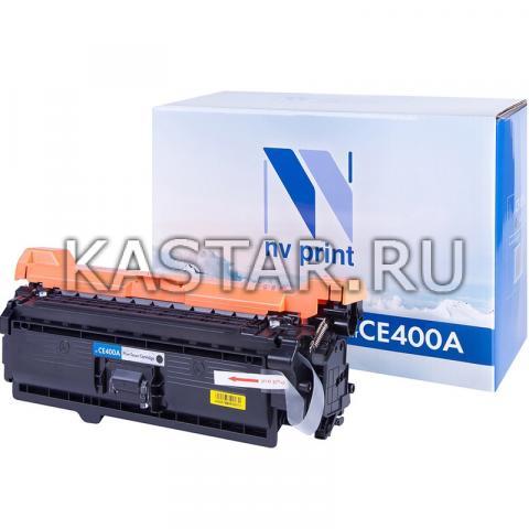 Картридж NVP совместимый NV-CE400A Black для HP LaserJet Color M551n   M551xh   M551dn   M570dn   M570dw   M575dn   M575f   M575c Черный (Black) 5500стр.
