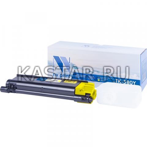 Картридж NVP совместимый NV-TK-580 Yellow для Kyocera  FS C5150DN | ECOSYS P6021cdn Желтый (Yellow) 2800стр.