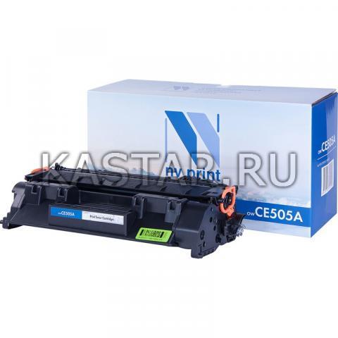 Картридж NVP совместимый NV-CE505A для HP LaserJet P2035 | P2035n | P2055 | P2055d | P2055dn | P2055d Черный (Black) 2300стр.