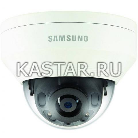 Вандалостойкая 4Мп камера Wisenet Samsung QNV-7010RP с ИК-подсветкой
