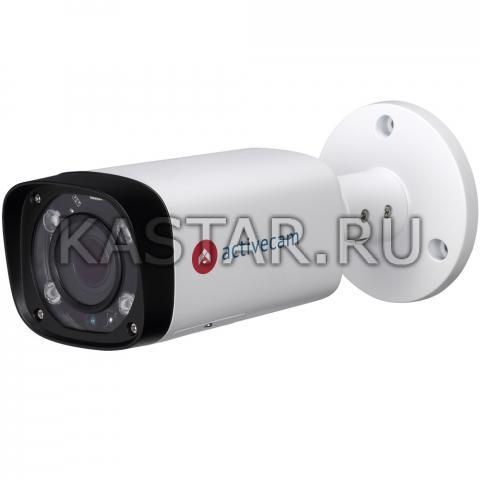 Цилиндр 4 Мп IP-камера ActiveCam AC-D2143ZIR6 с motor-zoom и ИК-подсветкой до 60 м