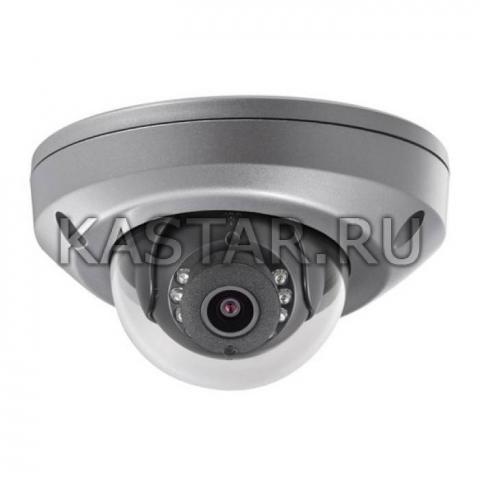 Миниатюрная вандалозащищенная IP-камера для транспорта Hikvision DS-2CD6510DT-I