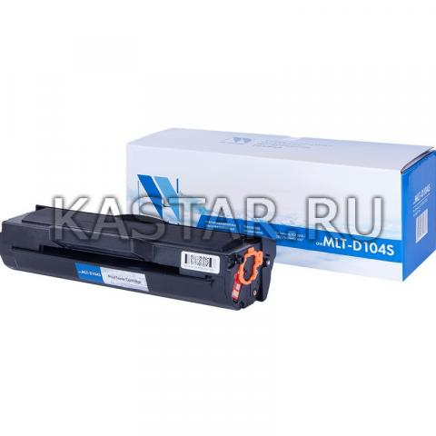 Картридж NVP совместимый NV-MLT-D104S для Samsung ML-1660 | 1665 | 1667 | 1860 | 1865 | 1865W | 1867 | SCX-3200 | 3205 | 3207 | 3217 Черный (Black) 1500стр.