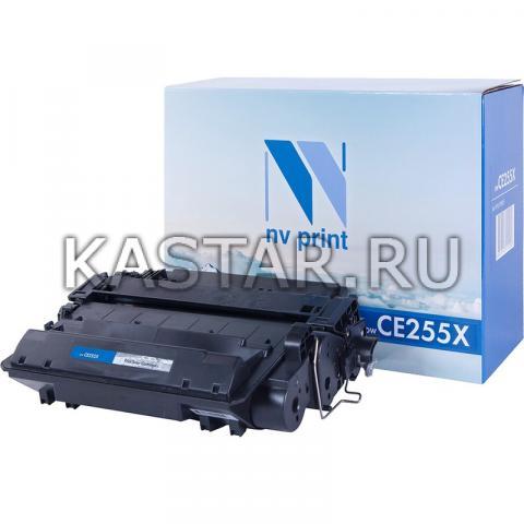 Картридж NVP совместимый NV-CE255X для HP LaserJet M525dn | M525f | M525c | Pro M521dw | M521dn | P3015 | P3015d | P3015dn | P3015x Черный (Black) 12500стр.