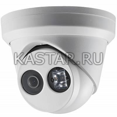 Сетевая 8Мп камера-сфера Hikvision DS-2CD2385FWD-I с WDR 120 дБ и EXIR-подсветкой