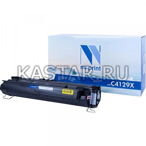Картридж NVP совместимый NV-C4129X для HP LaserJet 5000 | 5100 | 5100dtn | 5100tn Черный (Black) 10000стр.