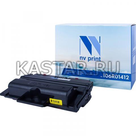 Картридж NVP совместимый NV-106R01412 для Xerox Phaser 3300MFP Черный (Black) 8000стр.