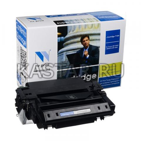 Картридж NVP совместимый Canon 710H для LBP 3460 (12000k) для Canon LBP 3460 Черный (Black) 12000стр.