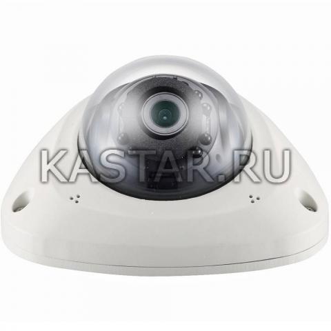 Вандалостойкая камера Wisenet Samsung SNV-L6014RBMP с ИК-подсветкой