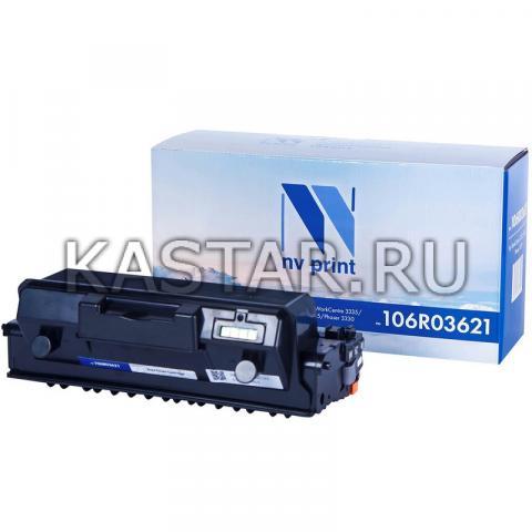 Тонер-картридж NVP совместимый NV-106R03621 для Xerox WorkCentre 3335 | 3345 | Phaser 3330 Черный (Black) 8500стр.